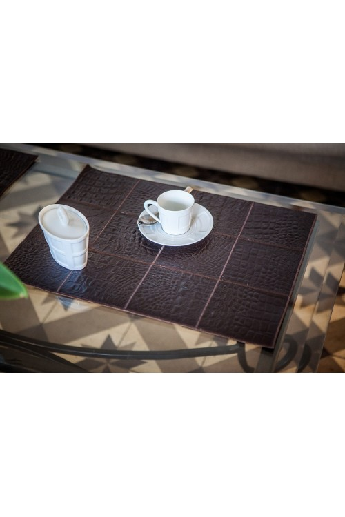 Manteau de vison noir blackglama for Set de table marron