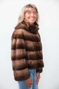 Little Brown Mink Jacket