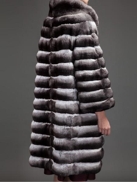 Manteau en Chinchilla