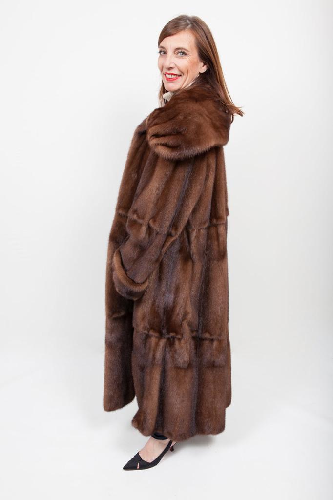 Manteau Long de Vison