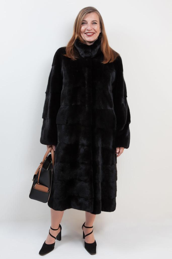 Manteau long de vison Blackglama