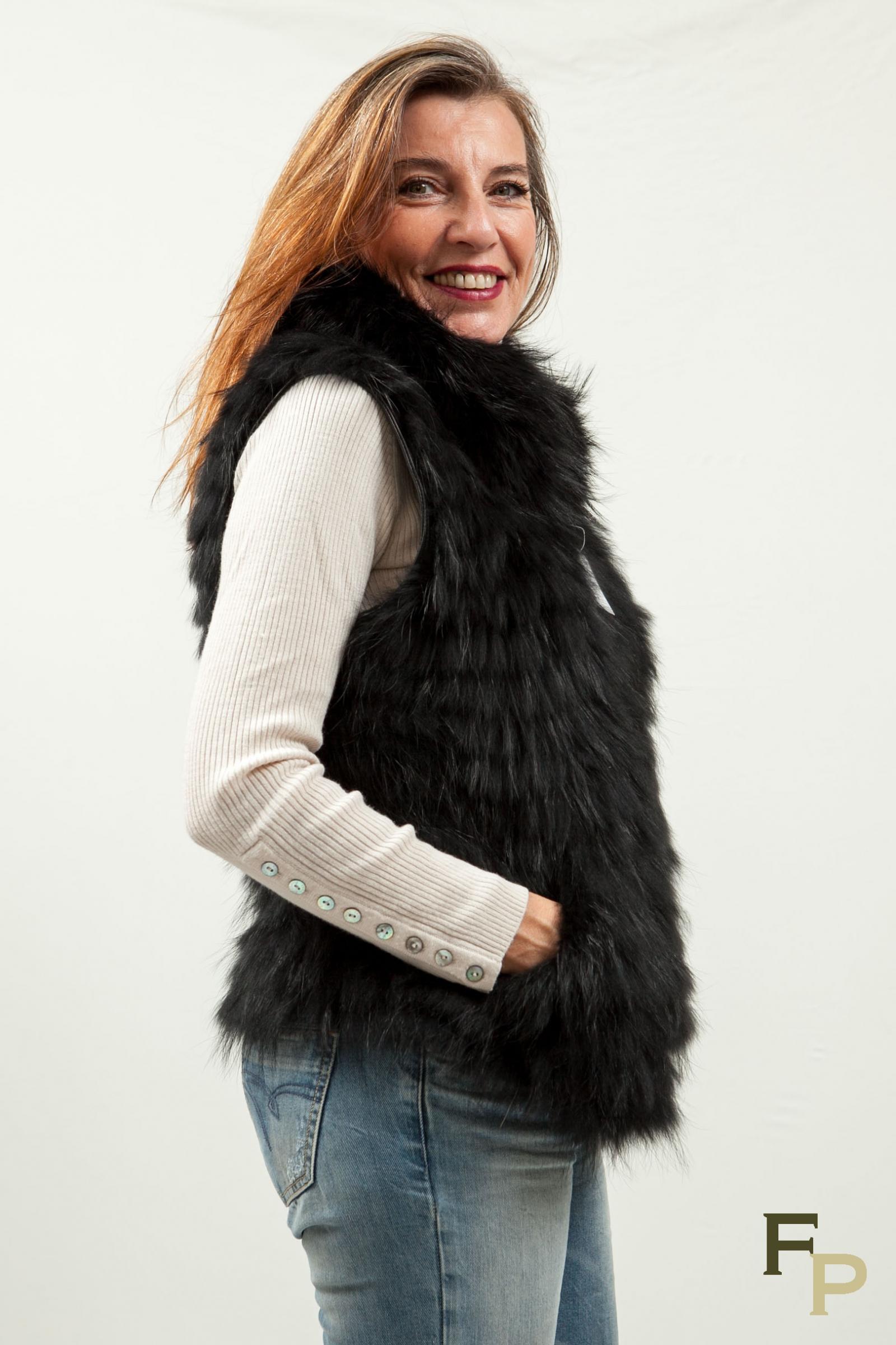 Comment porter veste en cuir sans manche
