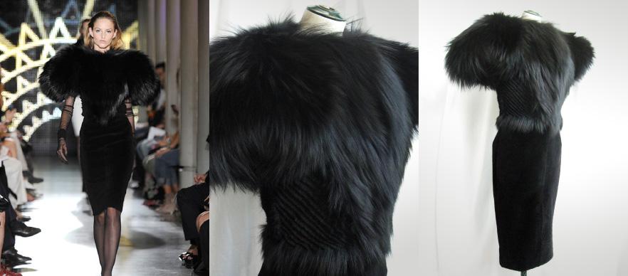 Modèle Alexandre Vauthier, haute couture, technique Marion Chopineau