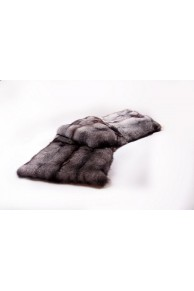Blue Frost Fur Fox Blanket or  Bed Throw
