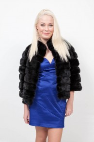 (Sold) Black Mink Jacket