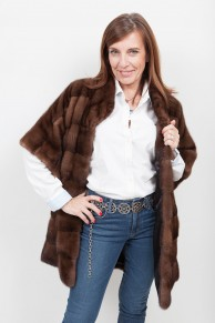 (SOLD) Brown Mink Coat