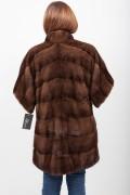 Manteau de Vison Marron