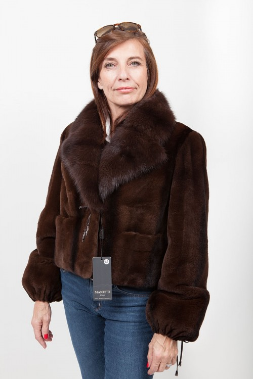Mink and Sable Jacket