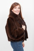 Sheared Mink and Sable Jacket