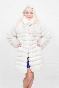 (Sold) Polar Fox Coat