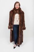 Long Brown Mink Coat