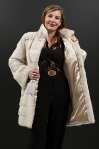 Pearl Mink Coat