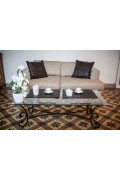 6 Sets de Table en Cuir Marron