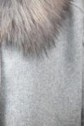 Manteau en Laine et Raccoon