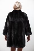 Long swinger mink coat