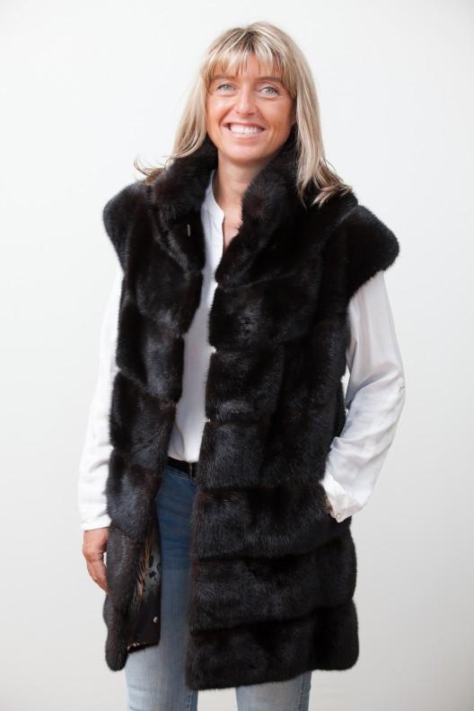 Vente privee de veste en cuir