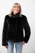 Full Skins Black Mink Jacket
