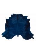 Peau de Vache Bleue Teintée
