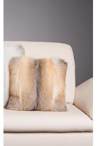 Cushion in Golden Island Fox Fur