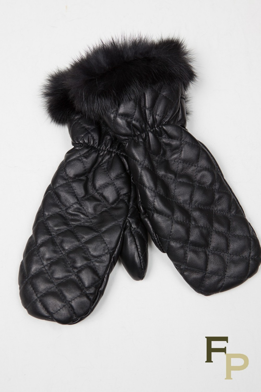 346fbeff7b68 White Rabbit Fur Gloves - Image Of Gloves