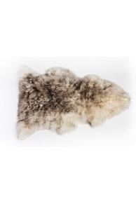 Peau de Mouton de Nouvelle Zélande Teintée Méchée Caramel