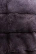 Manteau de Vison Titanium à Capuche signé Casiani