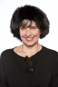 Black Fox Fur Hat