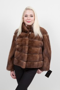 Brown Mink Vest