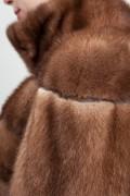 Brown Mink Vest