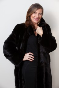 Long Black Mink Coat Blackglama