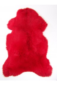 Red Merino Sheepskin