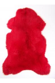 red sheepskin merinos