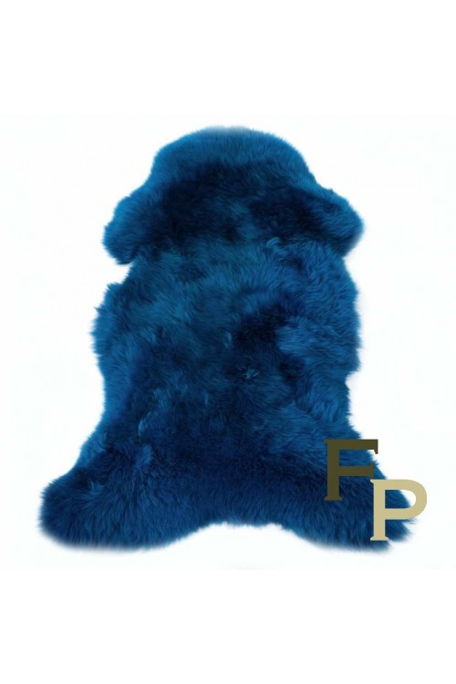 Peau de Mouton Mérinos Bleu Dur