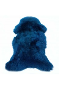 Dark Blue Sheepskin Merino