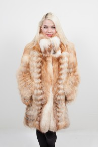 Manteau de Renard Roux