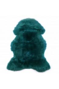 dark green merino lambskin
