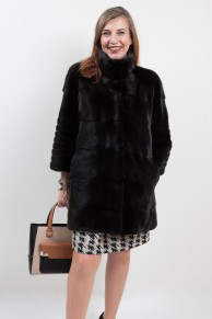 Black Mink Coat Blackglama