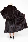 (SOLD) Dark Brown Mink Coat