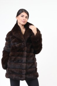 Manteau en Fourrure de  Zibeline