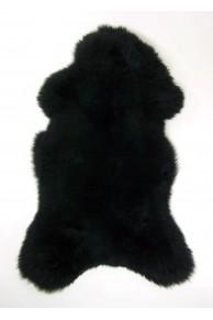 black merino sheepskin