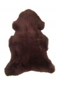 brown merino sheepskin