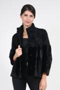 Jacket in Mink and Swakara Fur