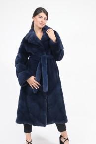 "Blue Mink Fur Coat ""Rozy"""