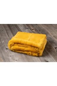 Curry Rabbit Fur Blanket
